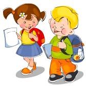 10677281-felici-i-bambini-vengono-con-zaini-e-notebook-a-scuola-banner